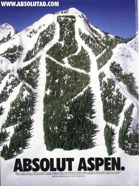 Search ABSOLUT to scan one of the biggest and best AD campaigns EVER...
