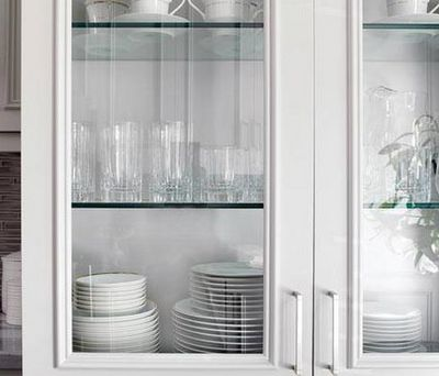 White Cabinet Doors With Glass