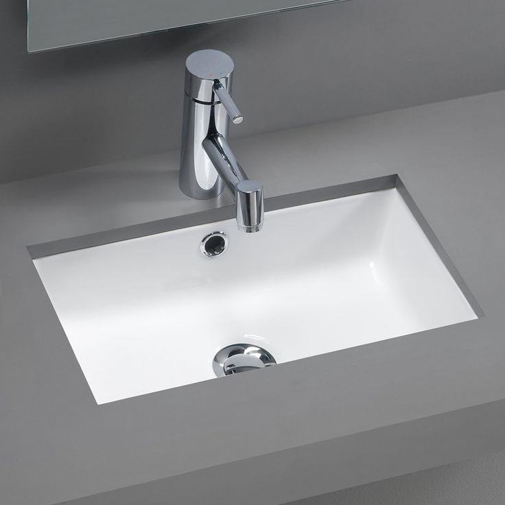 Modern Bathroom Undermount Sinks undermount vs drop in sink bathroom - moncler-factory-outlets