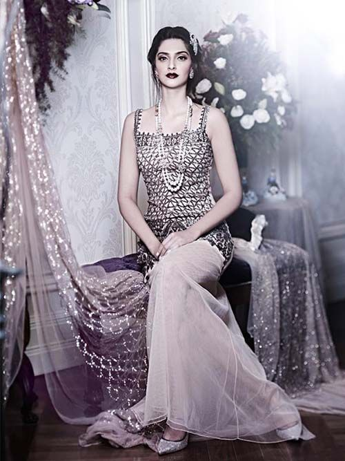 Sonam Kapoor has been the face of designer Shehla Khan
