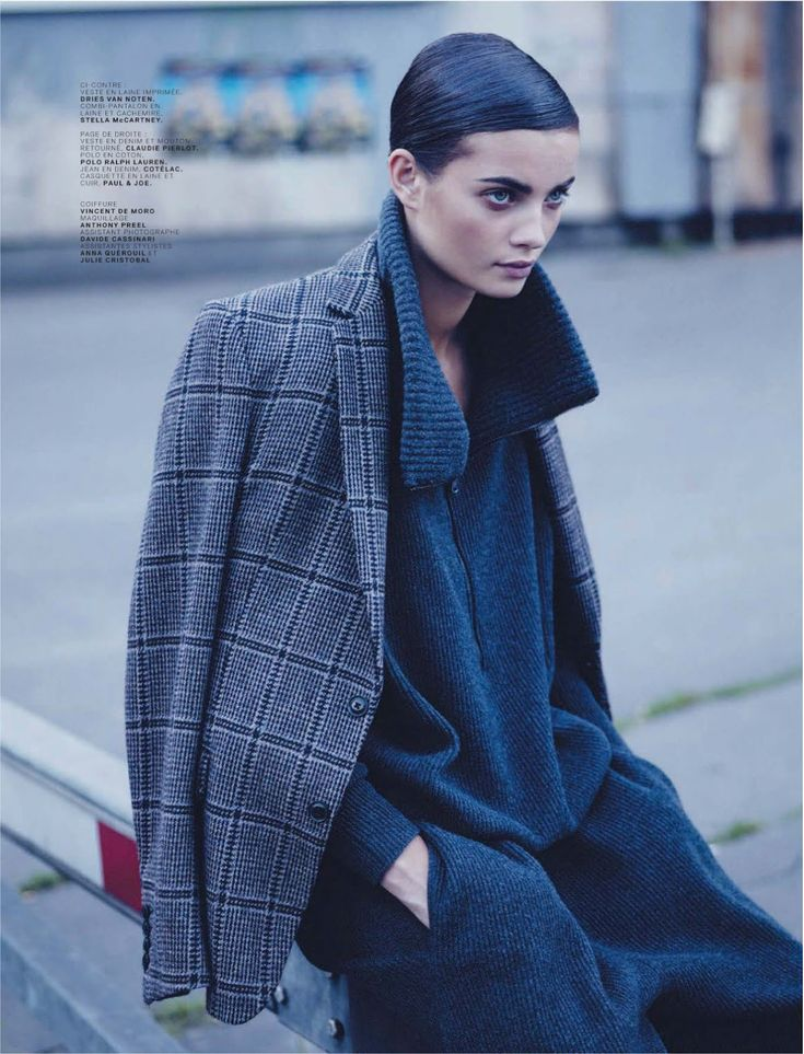 """Boyish Girl"" Moa Aberg By Stian Foss For Jalouse September 2013"