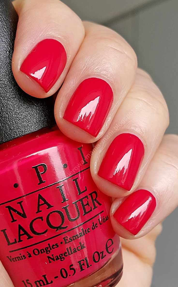 LAKIEROWA MANIA MANI beauty blog: OPI, DUTCH TULIPS (Classic Collection)