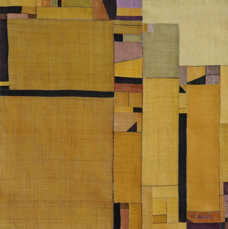Bok Hee Lee Yellow Wrapping Cloth, 2009 Linen (Via Museum of Craft and Folk Art)