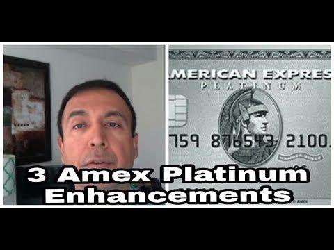 | 3 New American Express Platinum Enhancements | Bumped Up Insurance Ben...