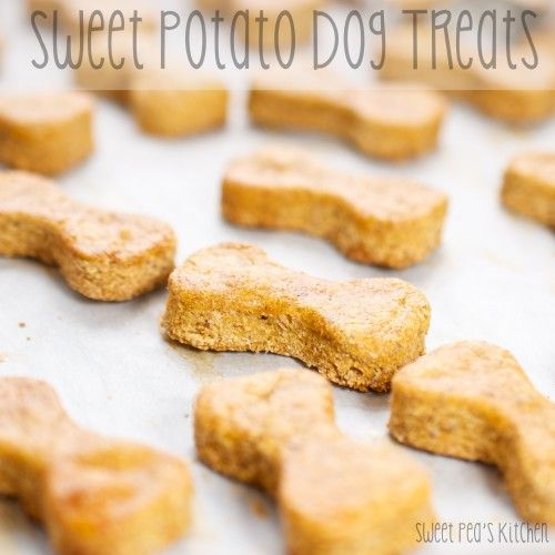 Sweet Potato Dog Treats {Sweet Pea's Kitchen}