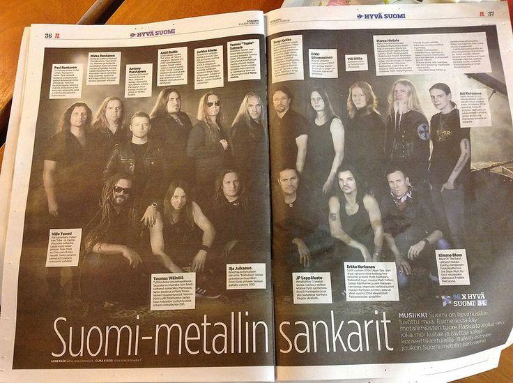 Raskasta Joulua:  Iltalehti 5.12.2013, s. 36-37