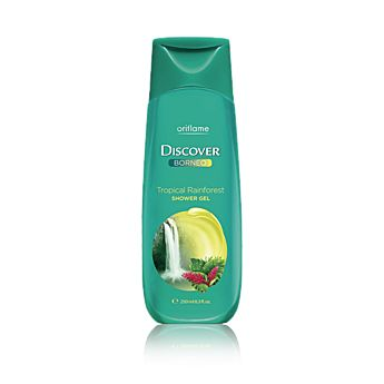 Discover Borneo Tropical Rainforest Shower Gel    Tropický sprchový gel Discover Borneo