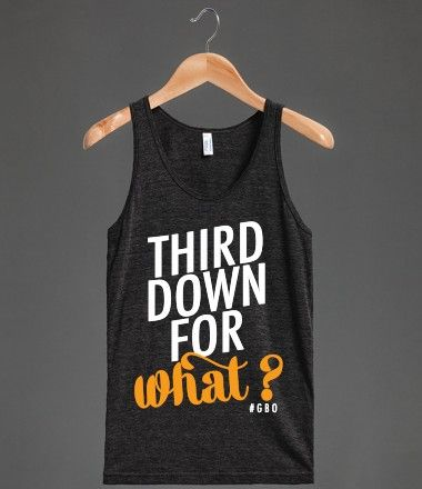 Third Down For What? Tennessee Vols Women's Tshirt #tennesseevols