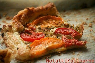Tarta z pomidorami i pesto