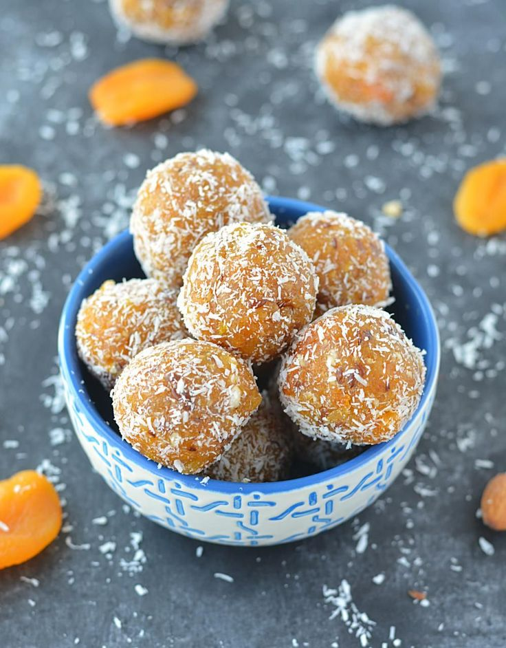 No Cook Apricot Energy Bites photo