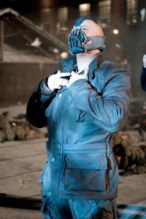 Tom Hardy as Bane in TDKR