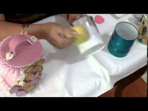 Aprender con Rossana TV: Decoración para potes de latas