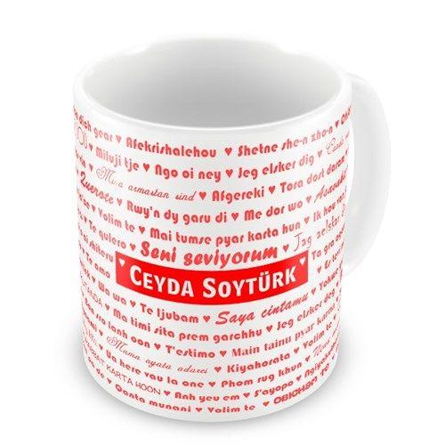Sevgilinize, üzerinde onu ne kadar çok sevdiğiniz yazılı olan bir kupa bardak hediye etmeye ne dersiniz? Kupa bardak üzerinde sevgilinizin ismi de yazıyor üstelik.   http://www.buldumbuldum.com/hediye/100_dilde_seni_seviyorum_kupa_bardak/