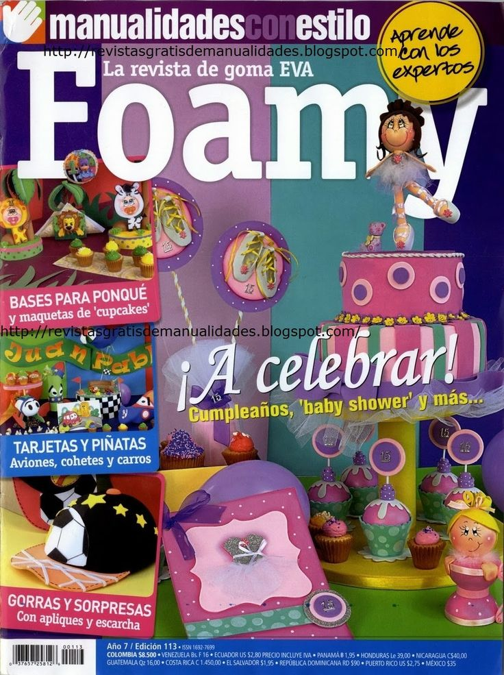 Revistas de manualidades Gratis: baby shower