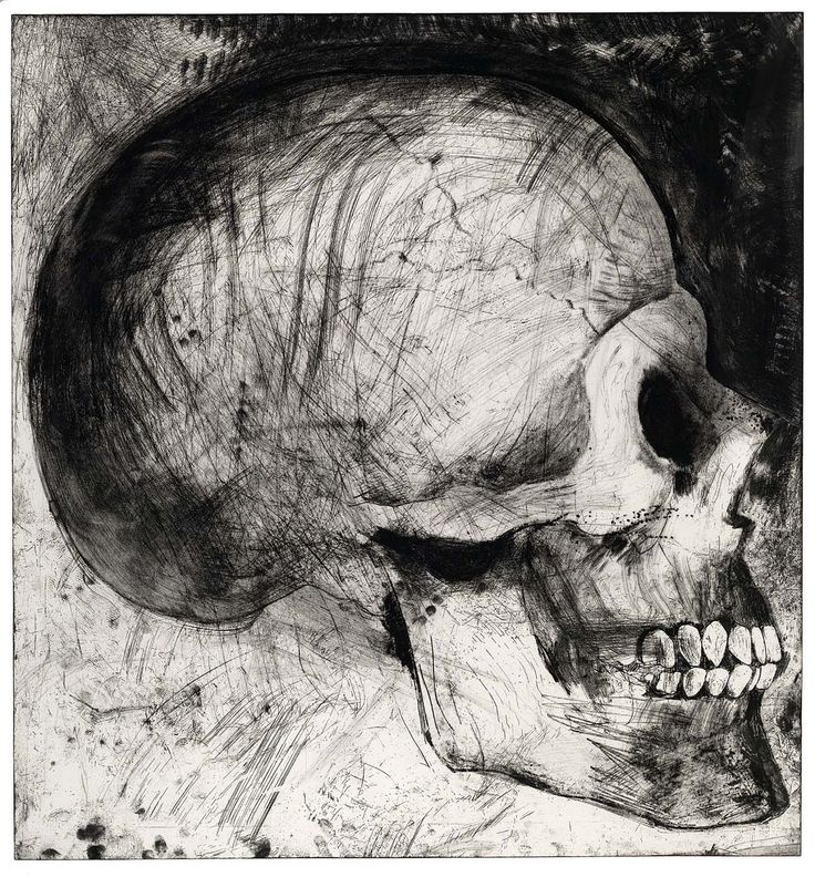 The Side View // Jim Dine // 1986 // Etching, soft-ground etching, and drypoint // Pace Editions, Inc.