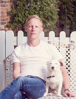 Laurence Fox & friend.