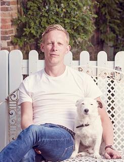 Laurence Fox & friend.