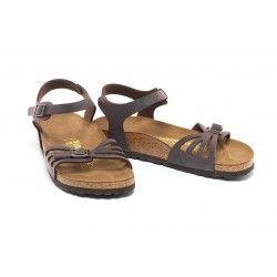 BIRKENSTOCK - Sandales Bali marrons