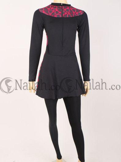 Baju Renang Muslim Jessica Rp 189,000 - nice muslimah wear! www.nailah.co
