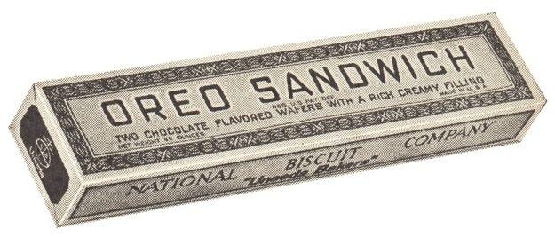 1912   100 Years Of Oreo Packaging