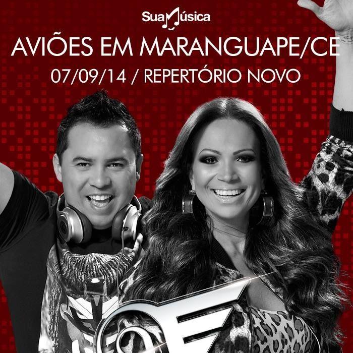 Aviões do Forró ao vivo - Repertório Novo!  http://suamusica.com.br/AvioesNaArenaMaranguape