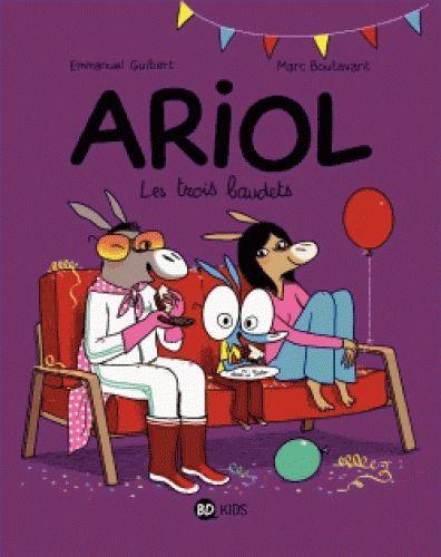 Nouveau volume d'Ariol, et nouvelle plongée dans le quotidien de ce petit ânon à la forte personnalité...Cette fois-ci, focus sur la famille Picotin : la maman Mule, le père Avoine et leur fils Ariol. Chez eux, les copains et copines d'Ariol sont toujours les bienvenus, que ce soit pour un goûter, un anniversaire, dire bonjour... ou juste passer jouer quelques minutes avec Ariol au « Chevalier Cheval ».  Ah, celui-là... On peut presque dire qu'il fait partie de la famille !