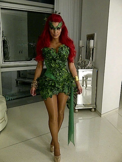 Poison Ivy Cosplay.
