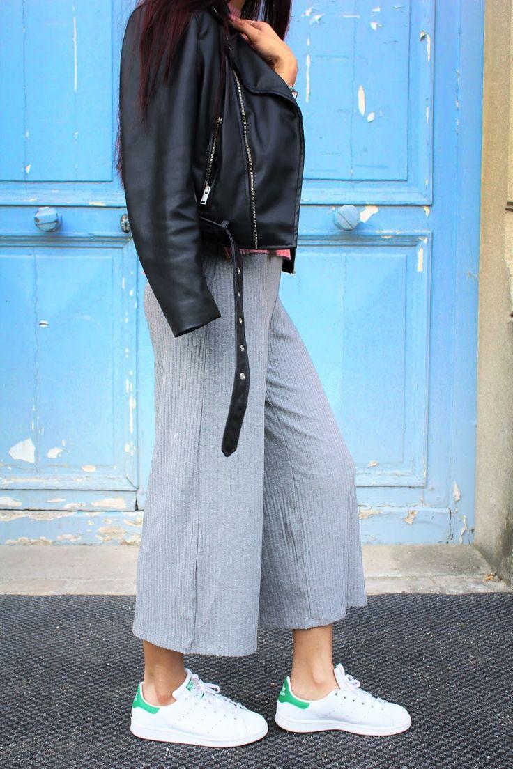 Comment porter la #jupe-culotte façon sportwear ?