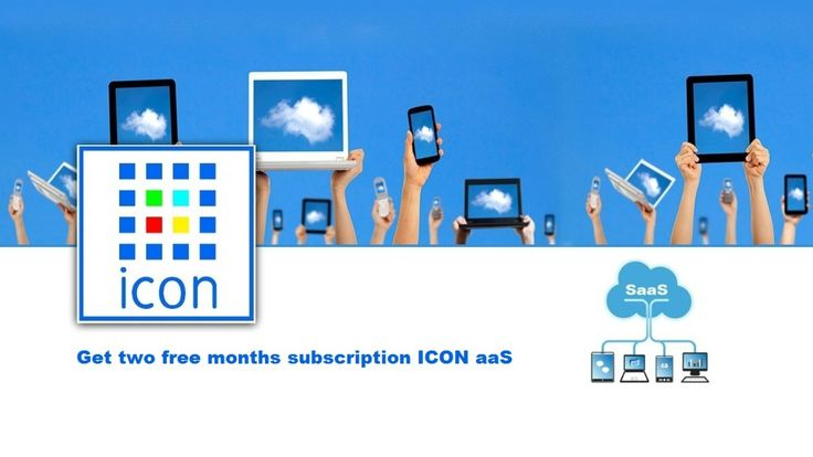 Get two free months subscription ICON aaS