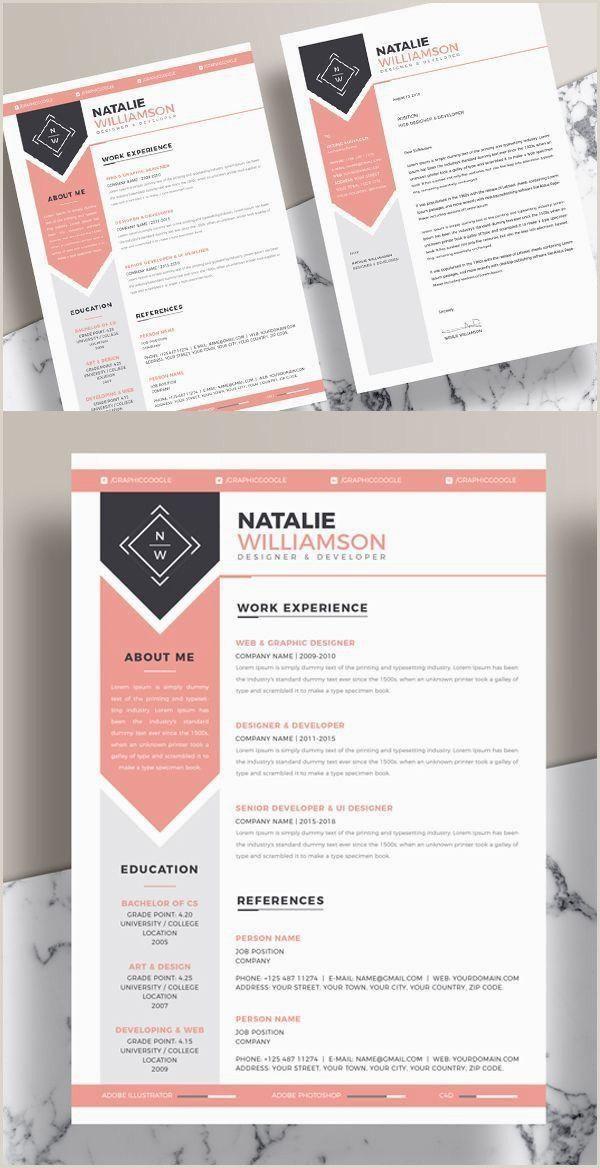 65 Unique Resume Template Clean Design Free Professional Resume Template Graphic Design Resume Creative Resume Templates