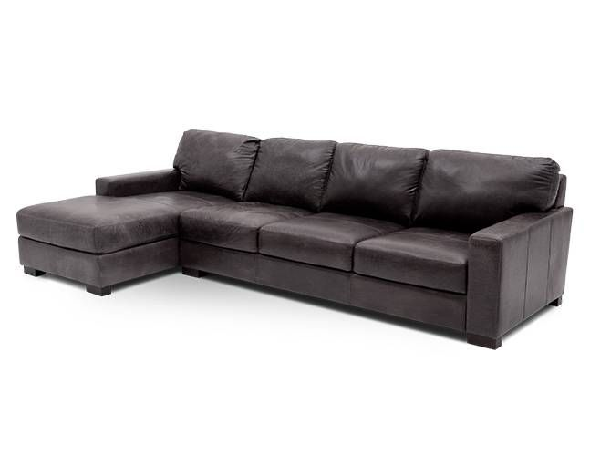 Durango 2 Pc. Chaise Sectional | Reclining sectional with