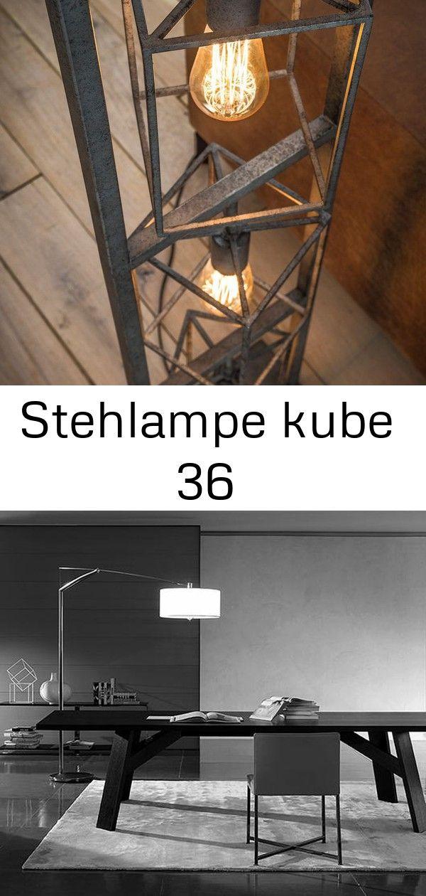 Stehlampe Kube 36 Lamp Decor Home Decor