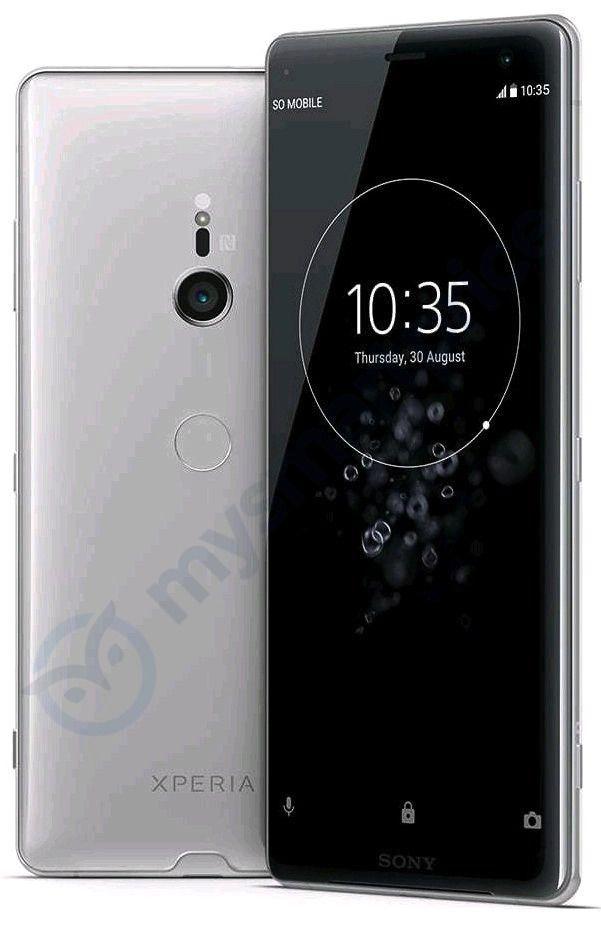 صورة جديدة م سربة يظهر فيها الهاتف Xperia Xz3 بكاميرا خلفية واحدة Sony Xperia Sony Camera