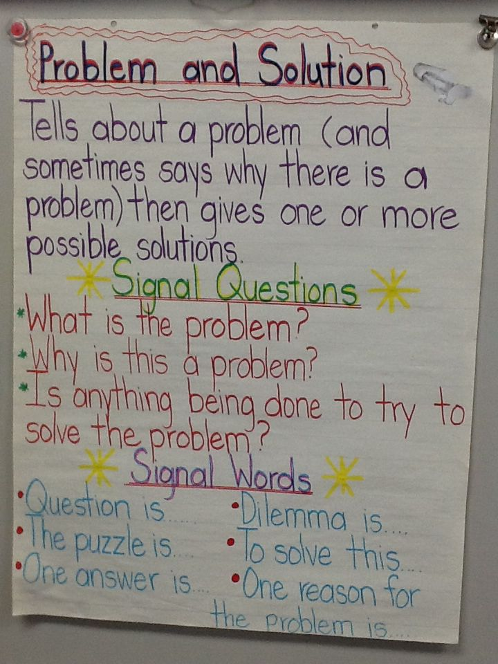 78 best images about problem and solution on pinterest