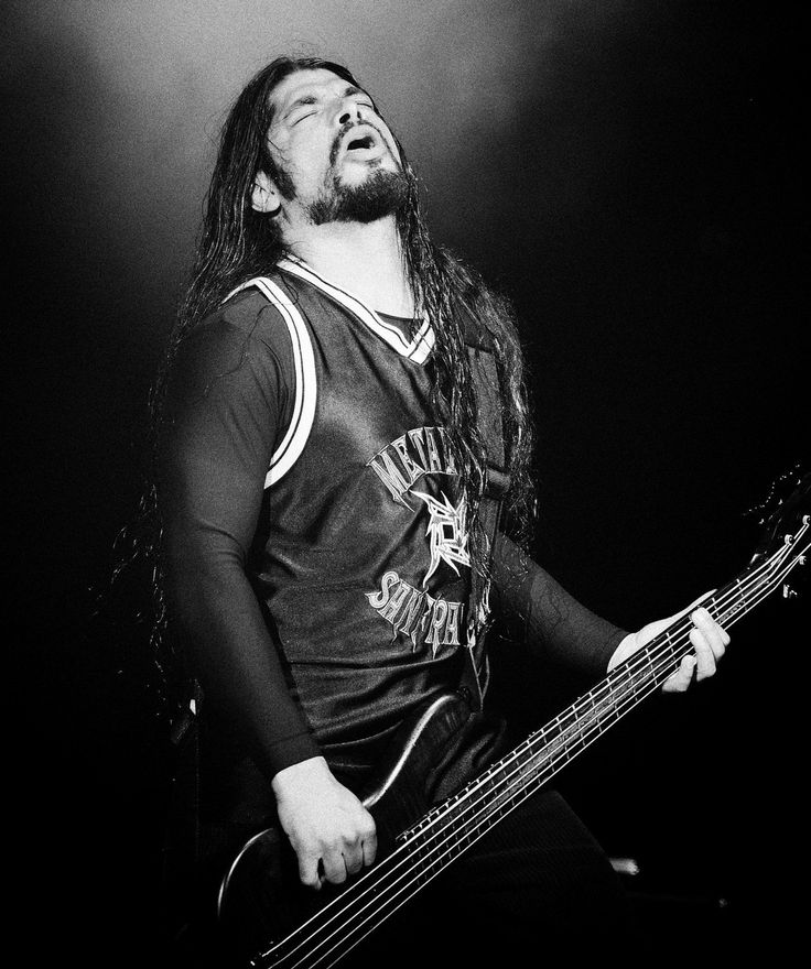 Robert Trujillo of Metallica.
