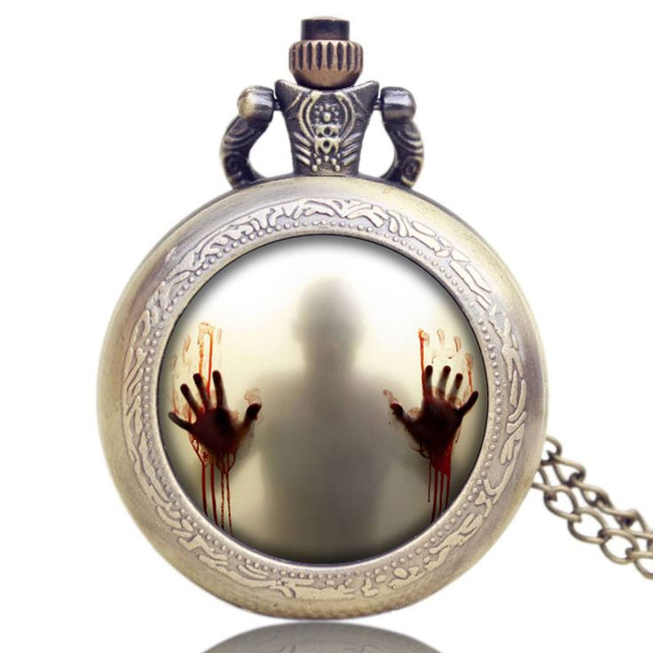 The Walking Dead Design Pocket Watch Quartz Analog Movement Women Mens //Price: $9.95 & FREE Shipping //     #carlgrimes