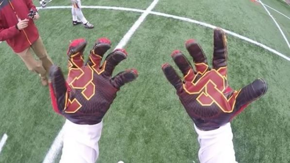 Trojan for a day: Catch passes from the USC WRs' point of view (VIDEO) | FOX Sports