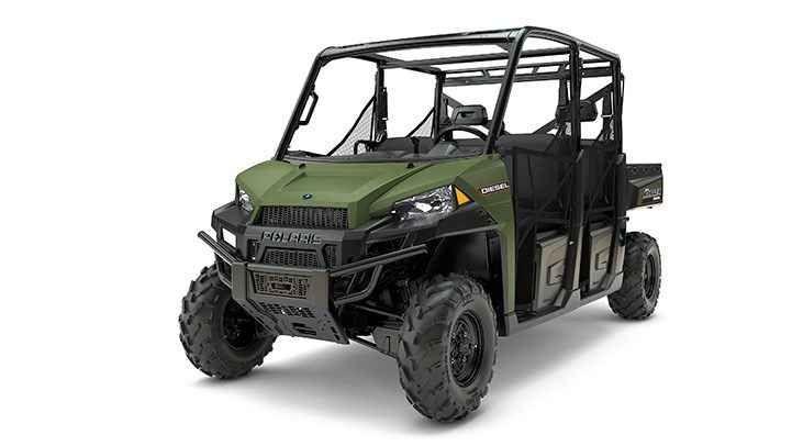 New 2017 Polaris Ranger Crew® Diesel ATVs For Sale in New Jersey.