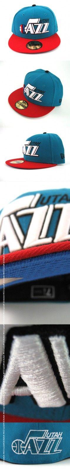 Utah Jazz New Era Hat (TEAL/RED)