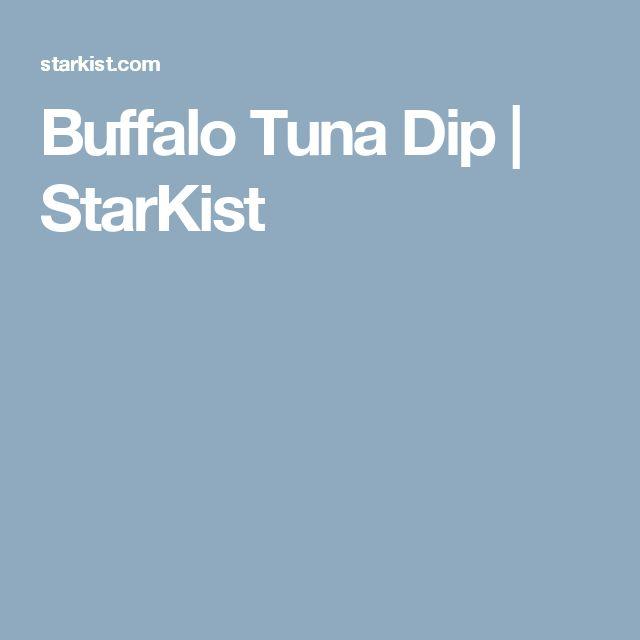 Buffalo Tuna Dip   StarKist