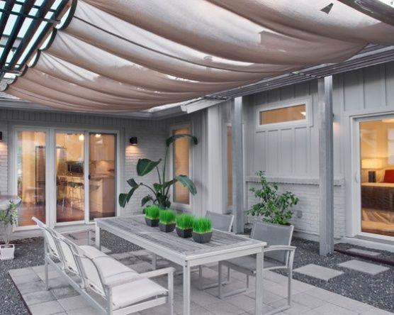 timber frame patio construction with canvas awning httpwwweasydiy patio shadegarden shadeinexpensive patiocabana ideasoutdoor - Inexpensive Patio Shade Ideas