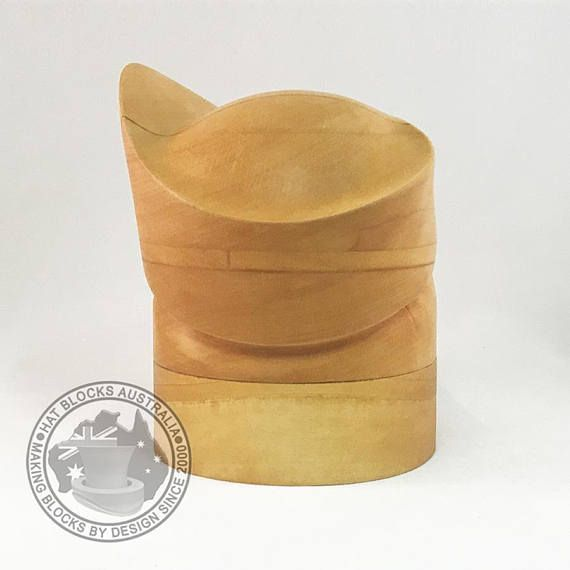 Audrey Toque Hand Made Vintage Reproduction Puzzle Hat Block By Hat Blocks Australia Millinery Hat Making Hat Mould Hat Blocks Millinery Hat Making