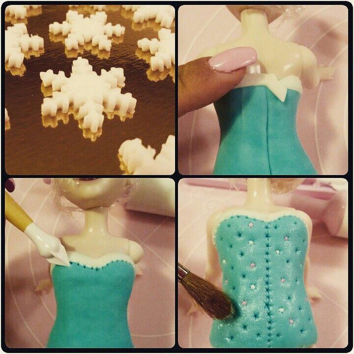 Elsa na dort