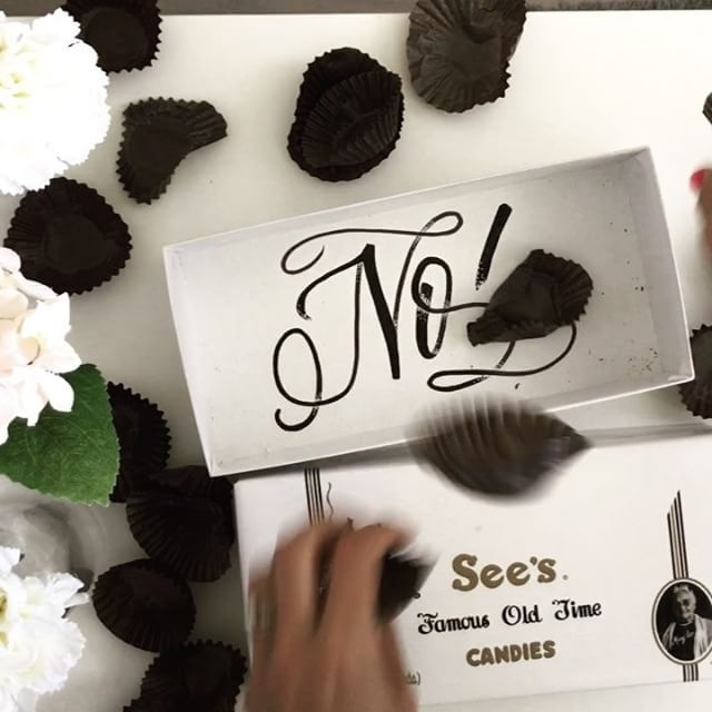 When it's Monday and your @seescandies are gone. #notsponsored #iwishitwas #sendchocolate