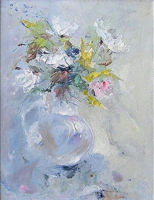 Eugene Loskutov - Евгений Лоскутовa (b.1949) Waltz of the Flowers artist, ia