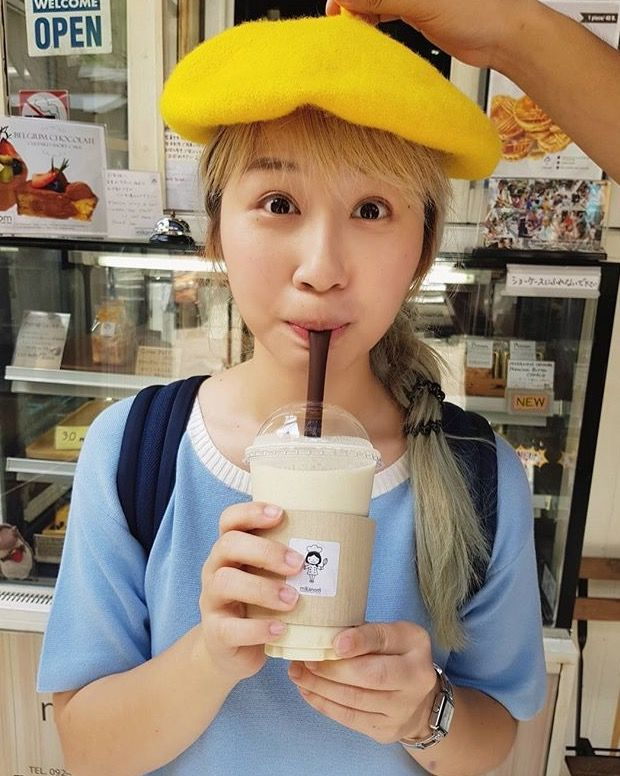 She's so cute like... mushroom? 🍄