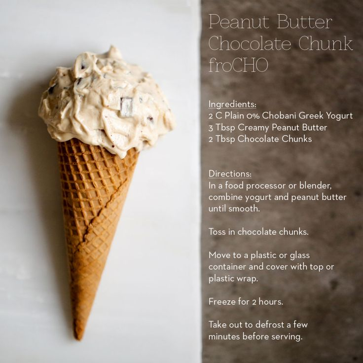 Chobani Yogurt -Our Blog -Peanut Butter Chocolate Chunk FroCHO - Chobani Yogurt