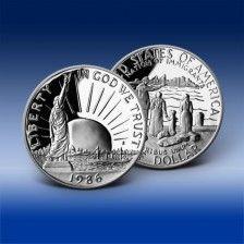 """Pamětní mince """"Statue of Liberty 1986"""""""