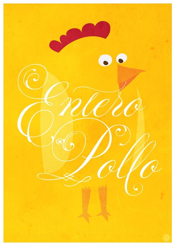 Afiches Flaites by Alvaro Ricardo Padilla Villanueva, via Behance