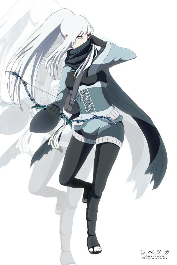 Senshikai Yukiko Anime Ninja Ninja Girl Naruto Oc